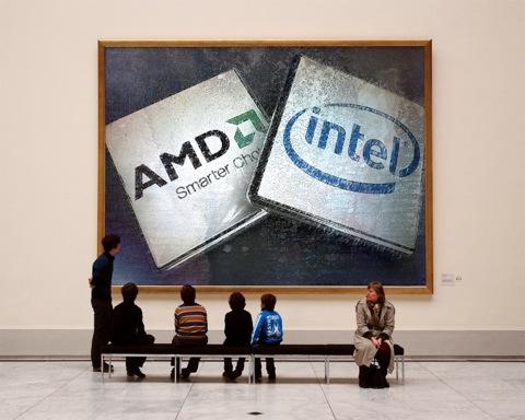 Intel Core или AMD Sabine
