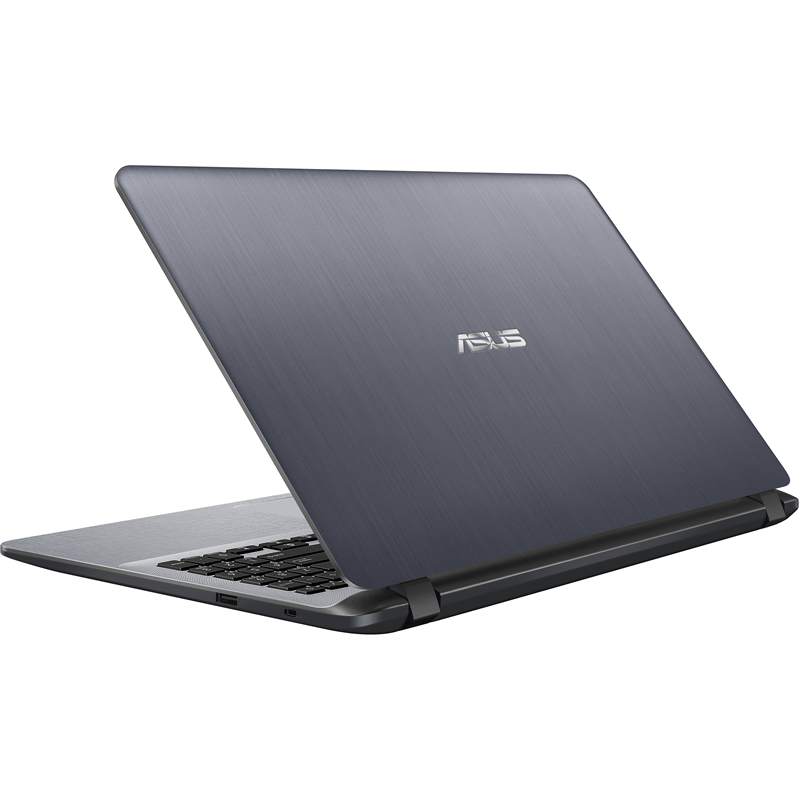 "Asus X507MA-BR001 (90NB0HL1-M00980) Celeron N4000, 4Gb, 500Gb, Intel UHD Graphics 600, 15.6"" HD (1366x768), Endless, grey, WiFi, BT, Cam"