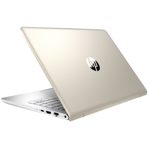 "HP Pavilion 14-bf020ur (2PV80EA)(Intel Pentium 4415U 2300 Mhz, 4Gb, SSD128Gb, Intel HD Graphics, 14"", IPS, FHD (1920x1080), Windows 10 64, gold, WiFi, BT, Cam)"