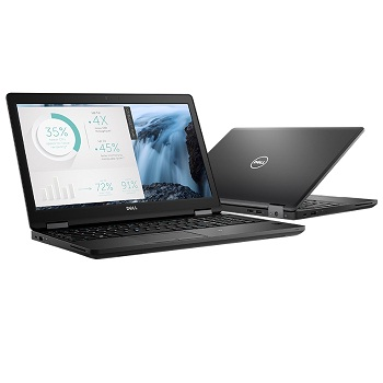 "Dell Latitude 5580(5580-9224) Core i5 7440HQ, 8Gb, SSD256Gb, Intel HD Graphics 620, 15.6"", IPS, FHD (1920x1080), Windows 10 Professional 64, black, WiFi, BT, Cam"