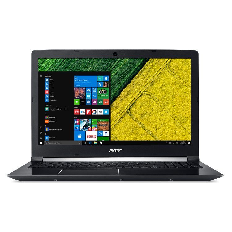 "Acer Aspire A717-71G-72SV (NX.GPFER.002) (Core i7 7700HQ, 16Gb, 1Tb, SSD128Gb, nVidia GeForce GTX 1060 6Gb, 17.3"", IPS, FHD (1920x1080), Windows 10 Home, black, WiFi, BT, Cam, 3220mAh)"