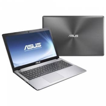 "Asus K550VX-DM408D (90NB0BB1-M10770)(Intel Core i5 6300HQ, 4Gb, 500Gb, SSD128Gb, nVidia GeForce GTX 950M 2Gb, 15.6"", FHD (1920x1080), Free DOS, grey, WiFi, BT, Cam)"