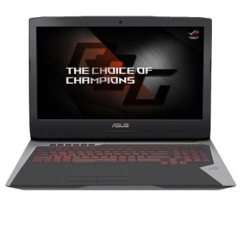 "ASUS ROG G752VS(90NB0D71-M07120)Intel i7-7700HQ,  16GB,  1TB 5400+ 256Gb NVMe SSD,  DVD,  17.3"" FHD Anti-Glare IPS WV,  NV GTX1070 8GB GDDR5,  Camera,  Wi-Fi,  Windows 10"