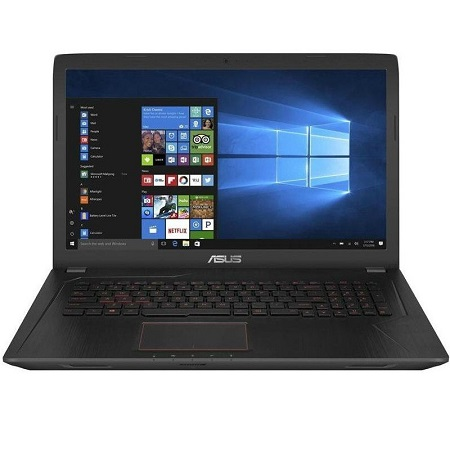 "ASUS FX753VD-GC484T (90NB0DM3-M08430)( 17.3""(1920x1080 (матовый)), Intel Core i7 7700HQ(2.8Ghz), 16384Mb, 2000+128SSDGb, DVDrw, Ext:nVidia GeForce GTX1050(2048Mb), Cam, BT, WiFi, war 1y, 3kg, black, W10)"