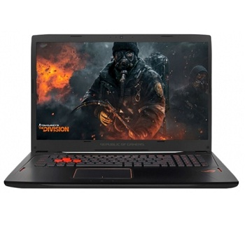 "ASUS ROG GL702VM-GB030T (90NB0DQ1-M00340)17.3""(1920x1080 (матовый)), Intel Core i7 6700HQ(2.6Ghz), 12288Mb, 1000+128SSDGb, noDVD, Ext:nVidia GeForce GTX1060(6144Mb), Cam, BT, WiFi, 50WHr, war 1y, 4.4kg, forge, W10"