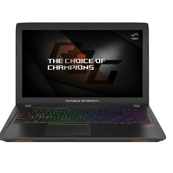 ASUS ROG GL553VD (90NB0DW3-M02740) Intel i7 7700HQ,  8GB,  1TB,  DVD-Super Multi,  15,6