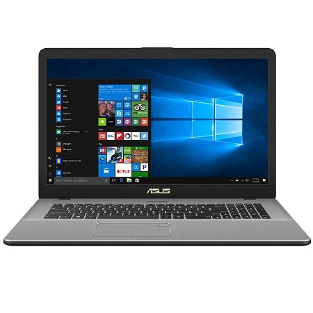 "ASUS N705UD-GC137 (90NB0GA1-M02080)(17.3""(1920x1080 (матовый)),  Intel Core i5 8250U(1.6Ghz),  8192Mb,  1000+128SSDGb,  noDVD,  Ext:nVidia GeForce GTX1050(2048Mb),  Cam,  BT,  WiFi,  war 1y,  2.1kg,  dark grey,  Linux)"