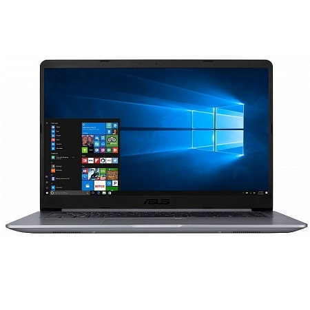 "ASUS S510UN-BQ193T (90NB0GS5-M05100)(15.6""(1920x1080 (матовый)), Intel Core i3 7100U(2.4Ghz), 6144Mb, 1000Gb, noDVD, Ext:nVidia GeForce MX150(2048Mb), Cam, BT, WiFi, war 1y, 1.7kg, grey, W10)"
