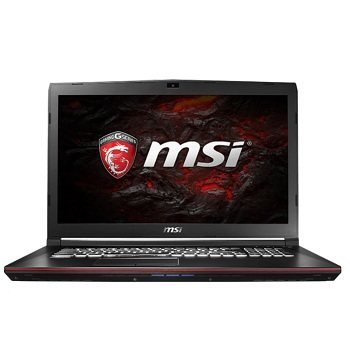 MSI GP72 7RD(Leopard)(9S7-179993-215) 17.3'' FHD(1920x1080) nonGLARE,  Intel Core i7-7700HQ 2.80GHz Quad,  8GB,  1TB,  GF GTX1050 2GB,  HM175,  DVD-RW,  WiFi,  BT4.2,  1.0MP,  SDXC,  2.70kg,  W10,  1Y,  BLACK