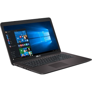 Asus X756UQ-T4233T (90NB0C31-M02570) Core i5 6200U, 6Gb, 500Gb, DVD-RW, nVidia GeForce 940M 2Gb, 17.3