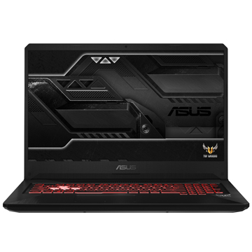 "ASUS ROG FX705GE (90NR00Z1-M03520) Intel Core i7 8750H, 8Gb, 1Tb + PCIE NVME 256G M.2 SSD, No ODD, 17.3"" FHD IPS Anti glare, NVIDIA GeForce GTX 1050 Ti 4Gb GDDR5, Camera, Wi-Fi, Windows 10, Black"