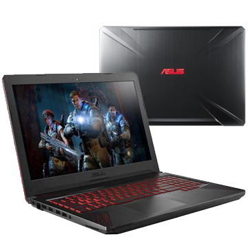 "ASUS ROG FX504GE (90NR00I3-M09170) Intel i5 8300H, 16Gb, 1Tb + PCIEG3x2 NVME 128G M.2 SSD, No ODD, 15.6"" FHD IPS Anti-Glare, NVIDIA GeForce GTX 1050 Ti 4Gb GDDR5, Camera, Wi-Fi, Windows 10, Metal"