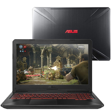 "ASUS ROG FX504GM (90NR00Q2-M08080) Intel Core i7 8750H, 8Gb, 1Tb, No ODD, 15.6"" FHD, NVIDIA GeForce GTX 1060 3Gb, Camera, Wi-Fi, Windows 10, Metal"