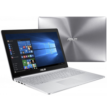 "ASUS Zenbook Pro UX501VW-FI234R (90NB0AU2-M04490) 15.6""(3840x2160), Intel Core i7 6700HQ(2.6Ghz), 16384Mb, 512Gb SSD, noDVD, nVidia GeForce GTX960M(2048Mb), Cam, BT, WiFi, 1.5kg, silver, W10Pro"