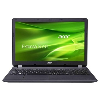 "Acer Extensa EX2519-C9HZ (NX.EFAER.075) Celeron N3060, 4Gb, 1Tb, DVD-RW, Intel HD Graphics 400, 15.6"" HD (1366x768), Linux, black, WiFi, BT, Cam, 3500mAh"