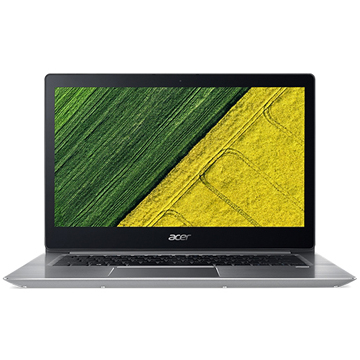 "Acer Swift 3 SF314-56G-72E4 (NX.H4LER.002) Intel Core i7-8565U, 8GB, 256GB SSD, no ODD, 14"" FHD IPS, NVIDIA GeForce MX150 2GB, WiFi+BT, Linux, Silver, 1.45 кг"