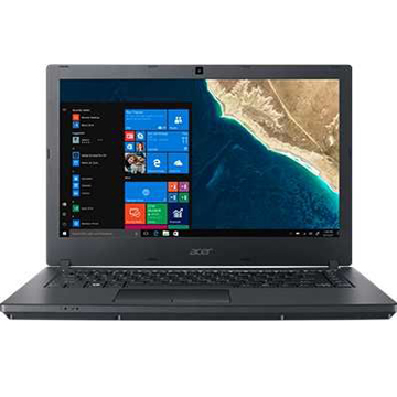 "Acer TravelMate TMP2410-G2-M-30FV (NX.VGSER.001) Core i3 8130U, 4Gb, 500Gb, Intel UHD Graphics 620, 14"" HD (1366x768), Linux, black, WiFi, BT, Cam, 3320mAh"