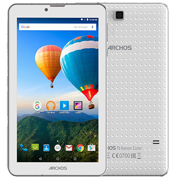 Archos 70 Xenon Color 3G (503179) 7'', 1024 x 600 IPS, 1GB, 8GB, Mediatek MT8312 4 core 1.3Ghz, 2xSIM, Micro USB, MicroSD, Camera, Wi-Fi, BT, 2500mAh, Android 5.1.1 Lollipop