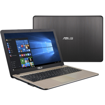 "Asus VivoBook K510UN-BQ502T (90NB0GS5-M09130) Core i5 8250U, 8Gb, 1Tb, 128Gb SSD, nVidia GeForce Mx150 2Gb, 15.6"" IPS FHD (1920x1080), Windows 10, black, WiFi, BT, Cam"