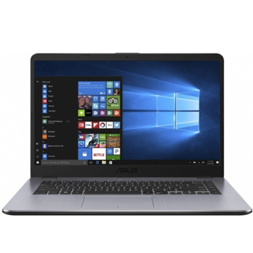 "Asus X505BA-EJ151T (90NB0G12-M02530) AMD E2 9000, 4Gb, 500Gb, AMD Radeon R2, 15.6"" FHD (1920x1080), Windows 10, dk.grey, WiFi, BT, Cam"
