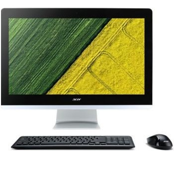 "Acer Aspire Z22-780 (DQ.B82ER.001)( 21.5"" Full HD 1920x1080 Intel i3 7100T (3.4), 4Gb, 1Tb 5.4k, HDG630, DVDRW, CR, Free DOS, GbitEth, WiFi, BT, 90W, клавиатура, мышь, Cam, черный )"