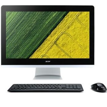 "Acer Aspire Z22-780 (DQ.B82ER.008) (21.5"" Full HD  1920x1080 Intel i3 7100T (3.4), 4Gb, 1Tb 5.4k, HDG630, DVDRW, CR, Windows 10, GbitEth, WiFi, BT, 90W, клавиатура, мышь, Cam, черный)"