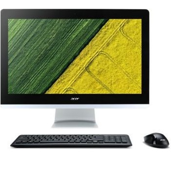 "Acer Aspire Z22-780 (DQ.B82ER.009) (21.5"" Full HD 1920x1080  Intel i5 7400T (2.4), 4Gb, 1Tb 5.4k, HDG630, DVDRW, CR, Windows 10, GbitEth, WiFi, BT, 90W, клавиатура, мышь, Cam, черный)"