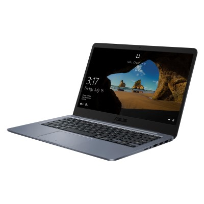 "Asus VivoBook E406SA-BV011T (90NB0HK1-M03490) Celeron N3060, 4Gb, 64Gb eMMC, Intel HD Graphics 400, 14"" HD (1366x768), Windows 10, grey, WiFi, BT, Cam"