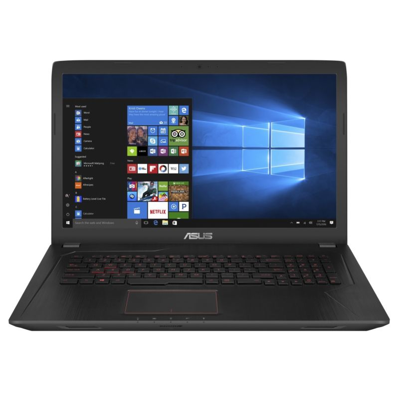 "Asus FX753VE-GC215 (90NB0DN3-M03480) Core i7 7700HQ, 16Gb, 1Tb, DVD-RW, nVidia GeForce GTX 1050 Ti 4Gb, 17.3"" FHD (1920x1080), Endless 64, black, WiFi, BT, Cam"