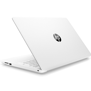 "HP 15-da0075ur (4KG80EA) Core i3 7020U, 4Gb, 500Gb, Intel HD Graphics 620, 15.6"" SVA HD (1366x768), Windows 10, white, WiFi, BT, Cam"