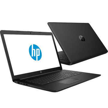 "HP 17-by0038ur (4KH02EA) Core i7 8550U, 12Gb, 1Tb, 128Gb SSD, DVD-RW, AMD Radeon 530 4Gb, 17.3"" IPS FHD (1920x1080), Free DOS, black, WiFi, BT, Cam"