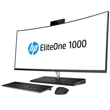 "HP EliteOne 1000 G1 AiO NT 34"" (2LU08EA) Intel Core i7 7700 (3.6Ghz), 8192Mb, 256Gb SSD, 34"" (3440x1440 IPS (матовый)), BT, WiFi, war 3y, Windows 10 Pro + Premium Wrless kbd&mouse"