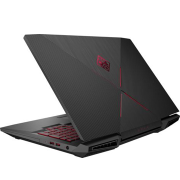 "HP Omen 17-an010ur (1ZB18EA) Intel Core i7 7700HQ (2.8Ghz), 16384Mb, 1000Gb HDD+128Gb SSD, DVDrw, 17.3"" (1920x1080 IPS), nVidia GeForce GTX1060 (6144Mb), Cam, BT, WiFi, 3.78kg, Shadow Black, Windows 10"