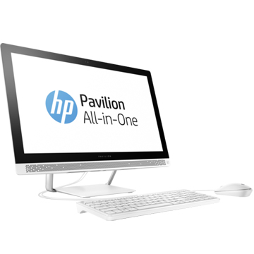 "HP Pavilion 24-b271ur (1AW99EA) 23.8""(1920x1080), Intel Core i7 7700T(2.9Ghz), 8192Mb, 1000Gb, DVDrw, Int:Intel HD Graphics 630, Cam, BT, WiFi, war 1y, 8.47kg, blizzard white, W10 + USB KBD, USB MOUSE"