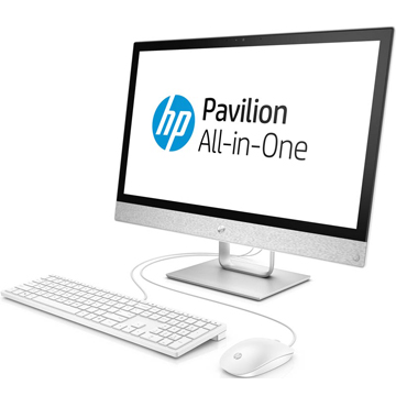 "HP Pavilion 24I 24-r026ur (2MJ51EA) 23.8""(1920x1080), Touch, Intel Core i7 7700T(2.9Ghz), 12288Mb, 1000+128SSDGb, DVDrw, Ext:AMD Radeon 530(2048Mb), Cam, BT, WiFi, war 1y, 7.8kg, blizzard white, W10 + USB KBD, USB MOUSE"