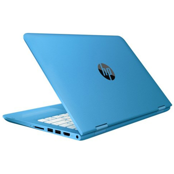 "HP Stream x360 11-aa000ur (Y7X57EA) Celeron N3050, 2Gb, 32Gb SSD, Intel HD Graphics, 11.6"" IPS Touch HD (1366x768), Windows 10 64, lt.blue, WiFi, BT, Cam"