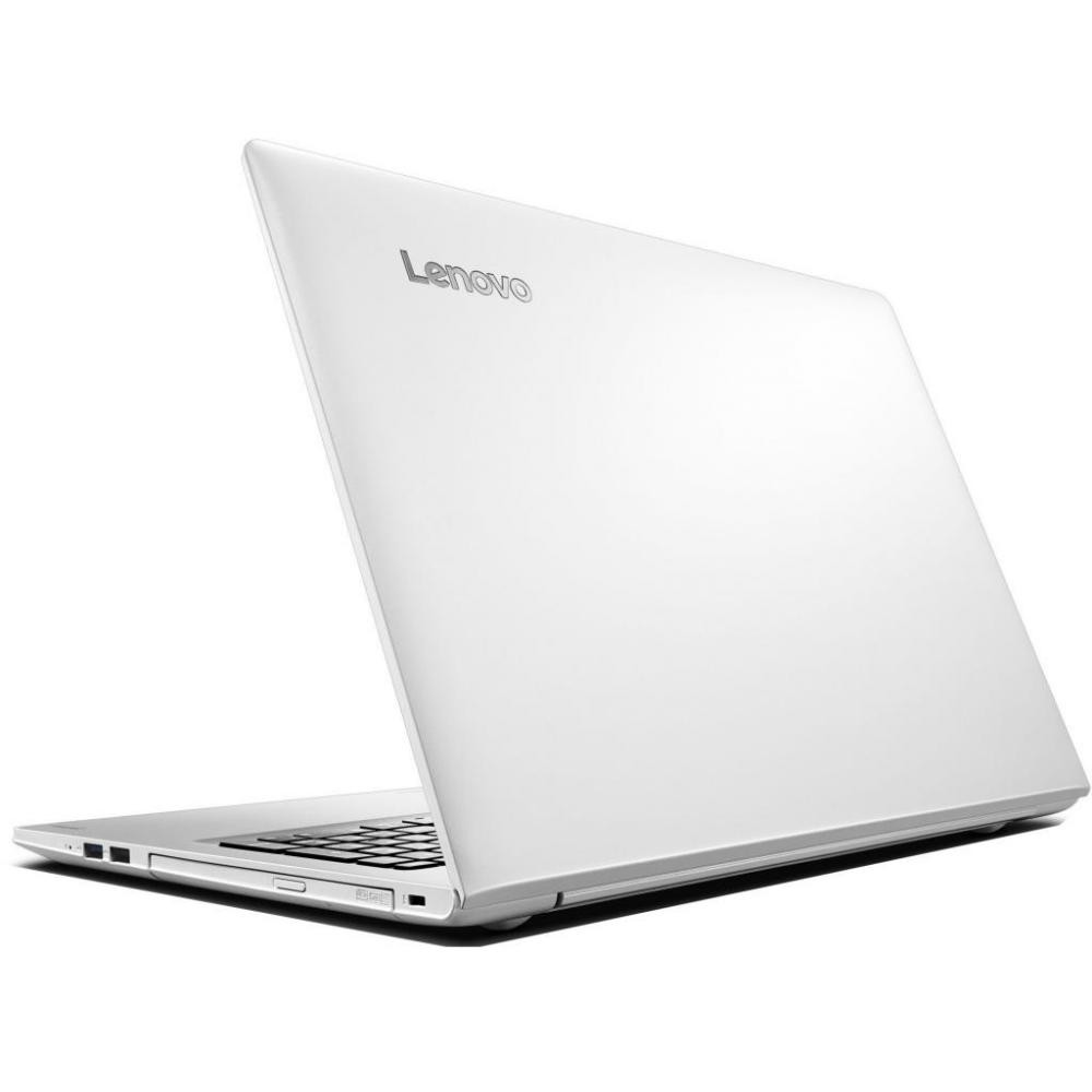 "Lenovo IdeaPad 510-15ISK (80SR00MGRK) Core i3 6100U, 4Gb, 1Tb, nVidia GeForce 940MX 2Gb, 15.6"" IPS FHD (1920x1080), Windows 10, white, WiFi, BT, Cam"