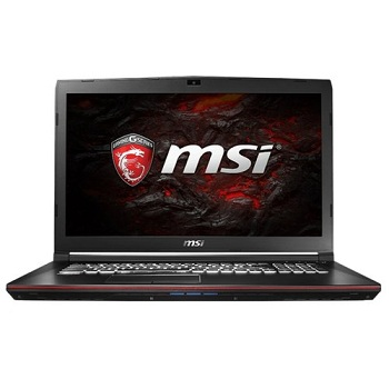 MSI GP72 7RD-214RU (9S7-179993-214)17.3'' FHD(1920x1080) nonGLARE,  Intel Core i7-7700HQ 2.80GHz Quad,  8GB,  1TB+128GB SSD,  GF GTX1050 2GB,  HM175,  DVD-RW,  WiFi,  BT4.2,  1.0MP,  SDXC,  2.70kg,  W10,  1Y,  BLACK