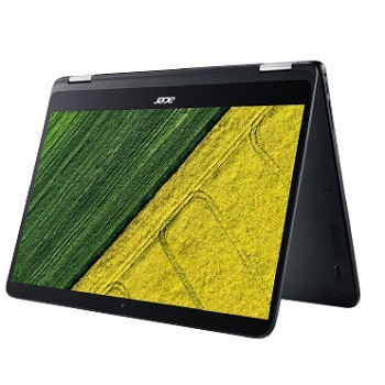 "Acer Spin 7 SP714-51-M0RP(NX.GMWER.002) Intel Core i7-7Y75,  8GB LP DDR3,  512 GB SSD,  no ODD,  14"" FHD IPS Multi-touch LCD,  UMA,  WiFi+BT,  4-cell Li-ion,  Windows 10 Home,  Black,  Black"