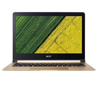 "Acer Swift 7 SF713-51-M4HA (NX.GN2ER.001) Intel Core i5-7Y54,  8GB LP DDR3,  256GB SSD,  no ODD,  13.3"" FHD IPS LCD,  UMA,  WiFi+BT,  4-cell Li-ion,  Windows 10 Home,  Black,  Gold"