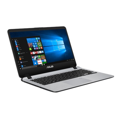 "ASUS X407UB (90NB0HQ1-M01900) Intel Core i3 7100U, 8Gb, 1Tb, No ODD, 14.0"" FHD Anti-Glare, NVIDIA GeForce MX110 2Gb GDDR5, Cam, Wi-Fi, Windows 10, Grey"