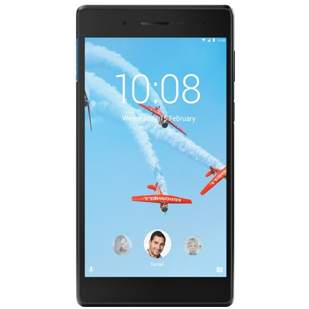 "Lenovo Tab 4 TB-7304F (ZA300173RU)( MT8167D, 1Gb, 8Gb 7"", And7.0, черный MT8167D (1.3) 4C, RAM1Gb, ROM8Gb 7\"" IPS 1024x600, Android 7.0, черный, 2Mpix, 2Mpix, BT, WiFi, Touch, microSD 128Gb, minUSB, 3450mAh, 10hr)"