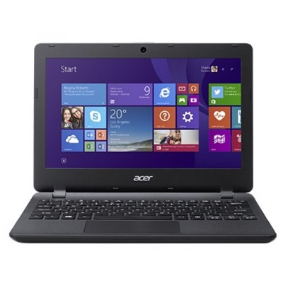 "Acer Aspire ES1-132-C3LS (NX.GGLER.001) Celeron N3350, 2Gb, 32Gb SSD, Intel HD Graphics, 11.6"" HD (1366x768), Windows 10, black, WiFi, BT, Cam, 3220mAh"