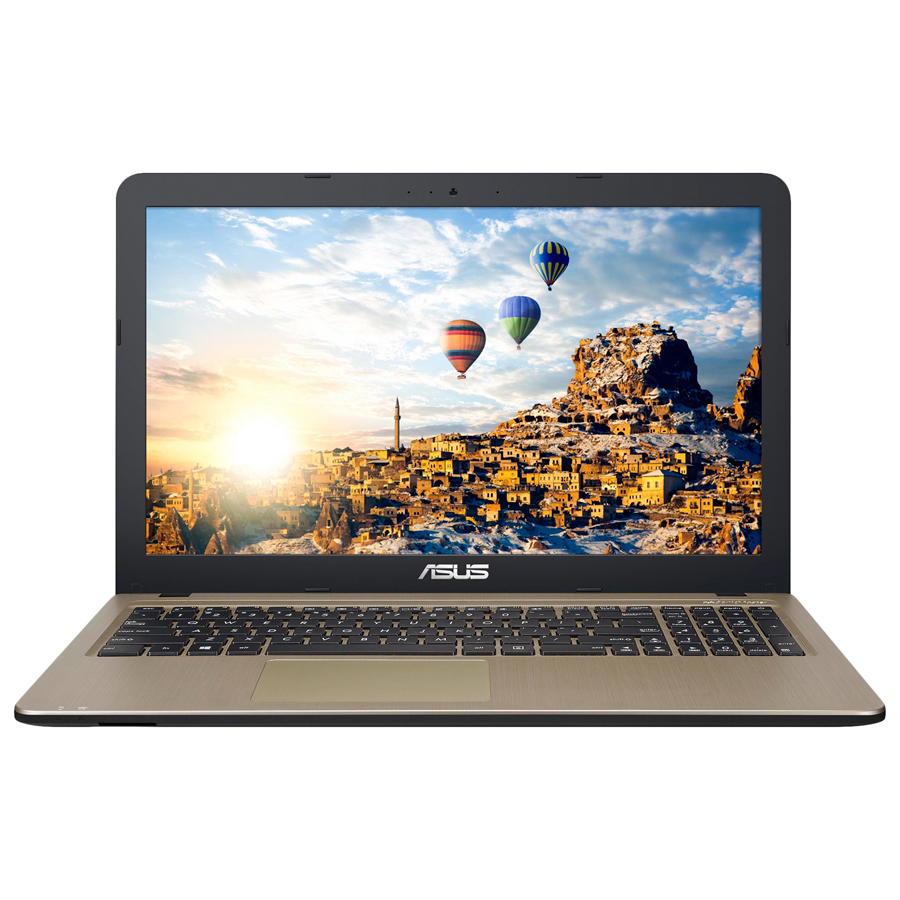 "Asus X540YA-XO047T (90NB0CN1-M00670)(AMD E1 7010, 2Gb, 500Gb, AMD Radeon R2, 15.6"", HD (1366x768), Windows 10 64, black, WiFi, BT, Cam)"