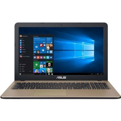 "Asus VivoBook X540LA-DM1255 (90NB0B01-M24400) Core i3 5005U, 4Gb, 500Gb, DVD-RW, Intel HD Graphics 5500, 15.6"" FHD (1920x1080), Endless, black, WiFi, BT, Cam"