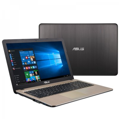 "Asus X540LJ-XX755T (90NB0B11-M11210) Core i3 5005U, 4Gb, 500Gb, nVidia GeForce 920M 1Gb, 15.6"" HD (1366x768), Windows 10, black, WiFi, BT, Cam"