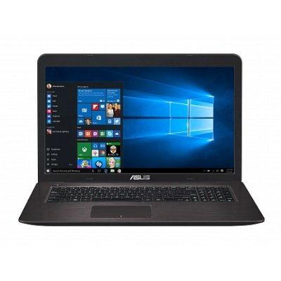 Asus X756UV (90NB0C71-M00810) Core i3 6100U, 4Gb, 500Gb, DVD-RW, nVidia GeForce 920MX 1Gb, 17.3