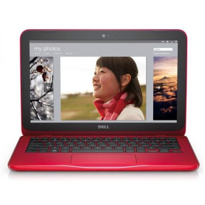 "Dell Inspiron 3162 (3162-3058) Celeron N3060, 2Gb, 32Gb SSD,  Intel HD Graphics 400, 11.6"" HD (1366x768), Windows 10, red, WiFi, BT, Cam"