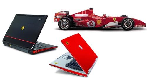 Ноутбуки Acer серии Ferrari